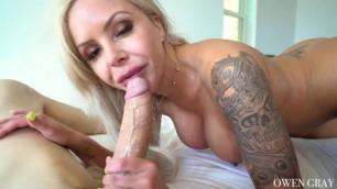 DeepLush Amazing Blonde Nina Elle Down To Fuck MILF