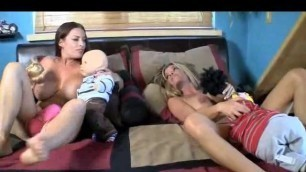 Goldie Blair - Two girls have fun in bed