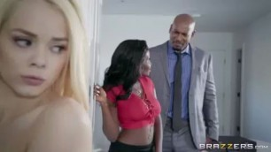 Elsa Jean Osa Lovely white and black fucked Brazzers Realwifestories