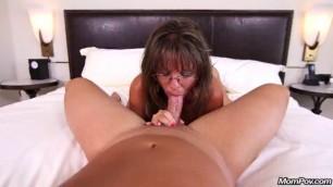 MomPOV Carry Ann likes a hard cock Sexy cougar slut prime for porn