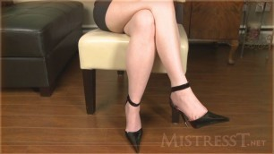 Mistress T - dominant therapist girl sex video