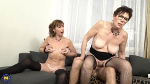 Danny Bloom - Lotty Blue & Ryannae - Georgina threesome