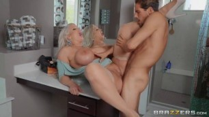 Brazzers Big Boobs Blonde Alura Jenson Draining The Plumber's Cock MommyGotBoobs