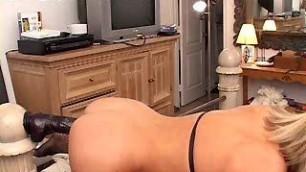 Desirae Spencer - leather bikini fuck