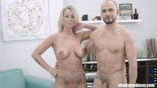Adriana Naked blonde fucks with men ShadyProducer