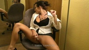 Tara Tainton - Secretary Gets Dirty Over the Lunch Hour!