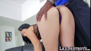 Sexy latina Kristina Rose gets her pussy banged with a bbc