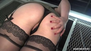 aude 25 years old fr brunette fucks in the ass jacquieetmicheltv