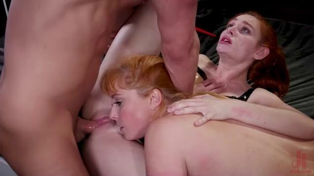 familiestied lacy lennon and penny pax red-haired girls fuck hard